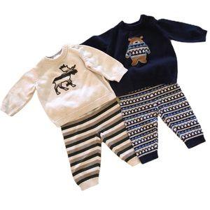 Cute Pair of Infant Gymboree Sweater Sets